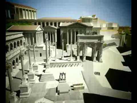 Reconstrucción de Roma antigua