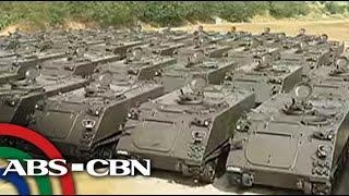 TV Patrol: 114 tangke de giyera, ibinigay ng Amerika para sa PH Army