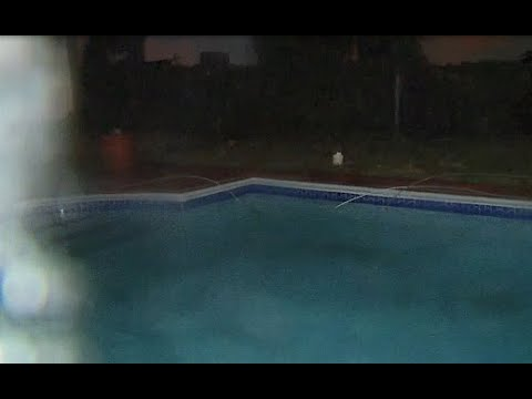 Irma's strong winds snap electrical wires, send them into backyard pool