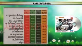 Bong Nik Nas - Zono RHM CD Vol 520 Khmer song 2015 (បងនឹកណាស់)