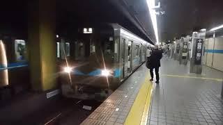 名古屋市交通局 3050形 柏森行 伏見駅発車