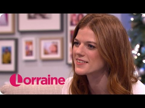 Rose Leslie On Her Roles In Luther And Game Of Thrones | Lorraine