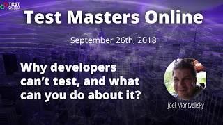 Test Masters Online: Joel Montvelisky