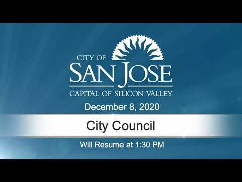 DEC 8, 2020 | City Council, Afternoon Session
