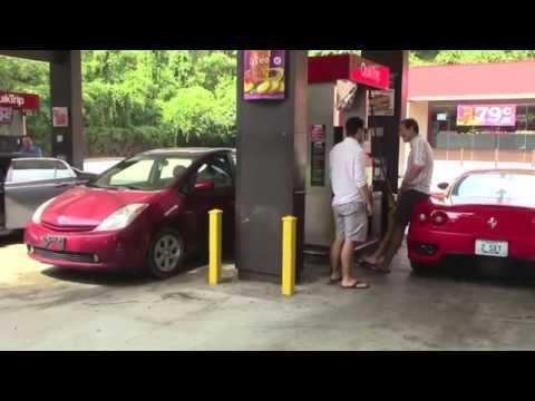 Getting Gas in a Ferrari 360 Modena