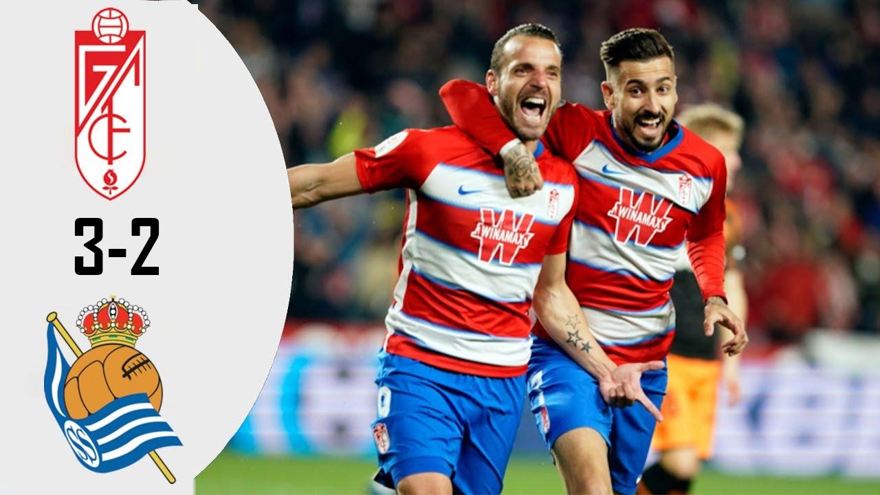 Real Sociedad 2:3 Granada