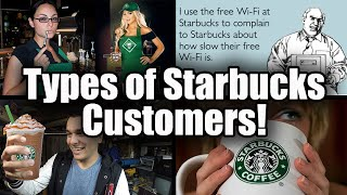 5 Types of People at STARBUCKS!