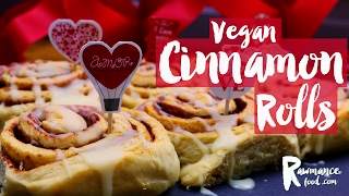 VEGAN CINNAMON ROLLS  Delicious & Healthy Recipe for Valentines Day