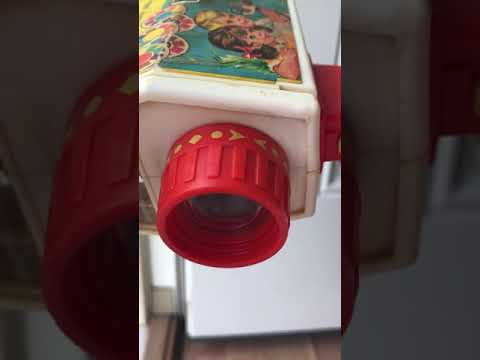 Vintage Toy Musical Video Camera Viewfinder Type Fisher Price AnythingEverythingEverywhere