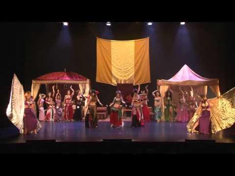 ישראל רוקדת בטן 2011  ריקוד פתיחה   - Belly Dance