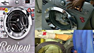 IFB Senorita Aqua SX front loading washing machine demo hindi/ why I got front load and not too load
