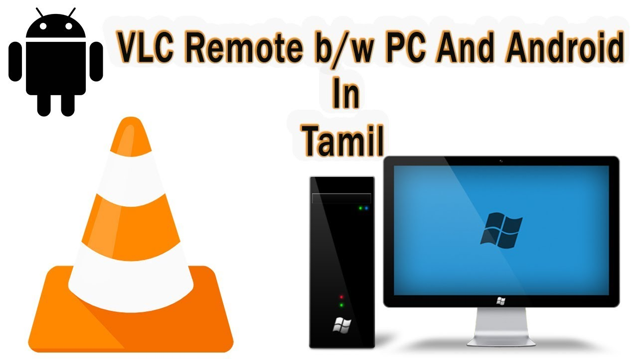 VLC Remote Control Access  In Tamil - By Behind Facts