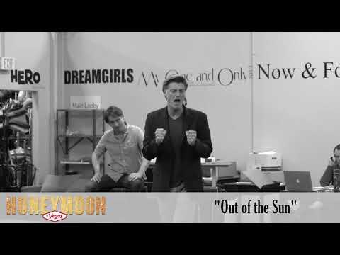 """Sean Allan Krill as """"Tommy"""" in Rehearsal for Honeymoon in Vegas"""
