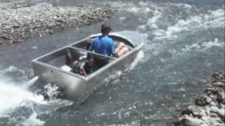 Jet Dinghy, Build And Test, Nz