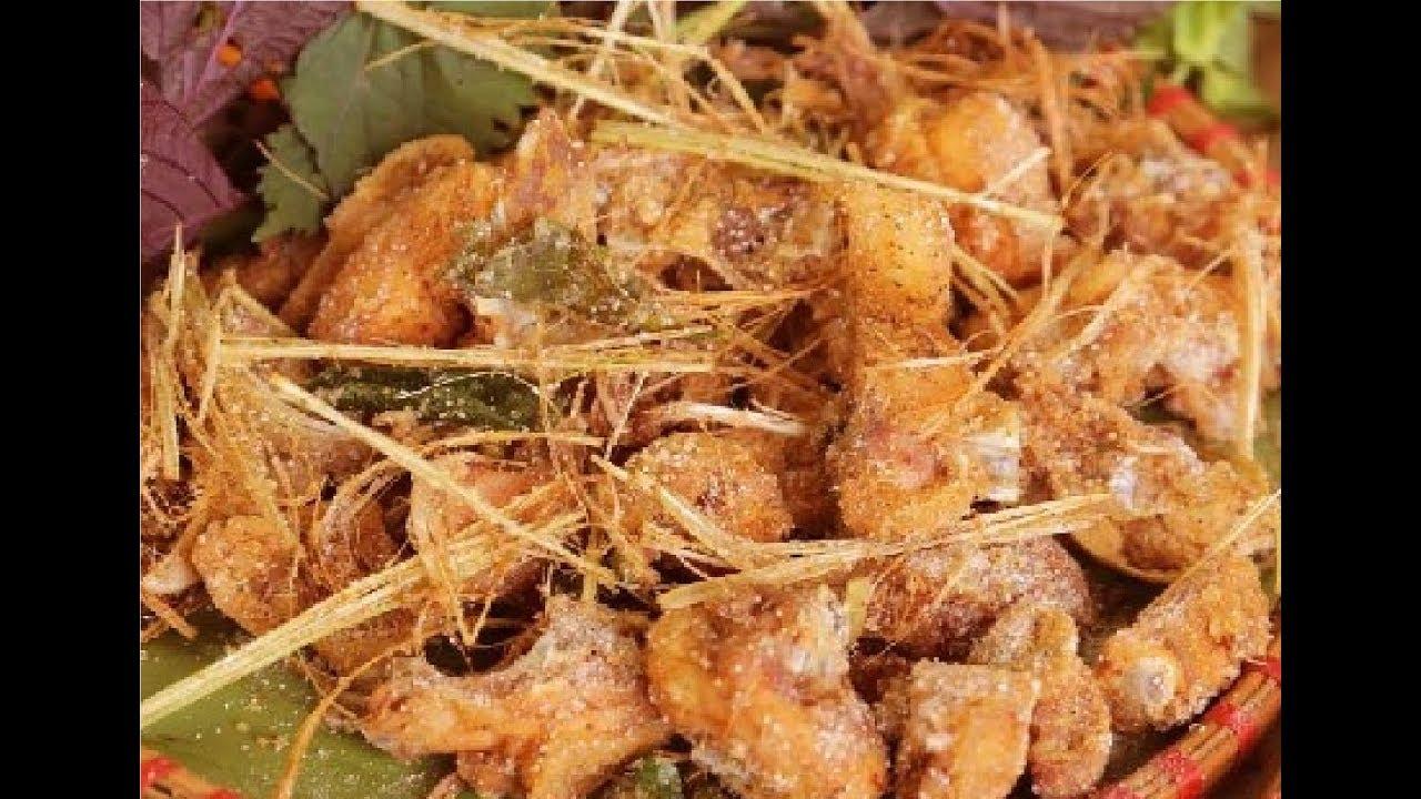 Cách làm gà rang muối giòn thơm ngon!