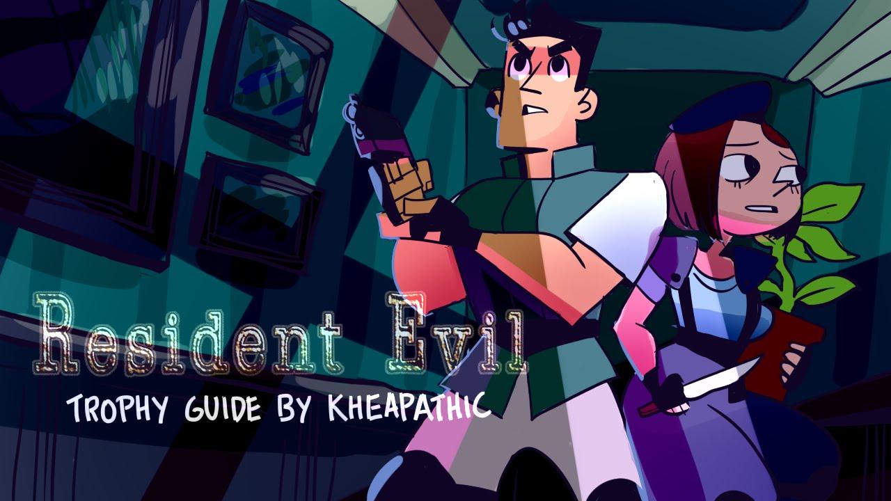 Resident evil hd remaster plant 42 jill w v jolt the for Plante 42 resident evil