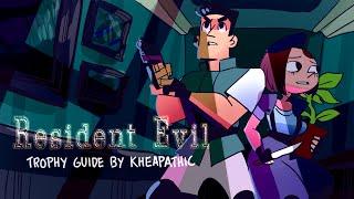 Resident Evil HD Remaster - Plant 42 (Jill  w/V-Jolt) The Key Master Trophy