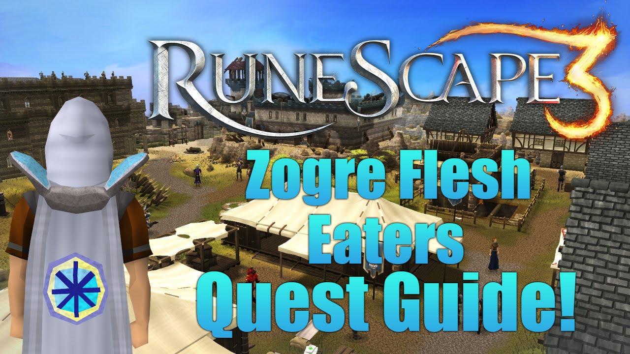 Runescape 3 Zogre Flesh Eaters Quest Guide Youtube