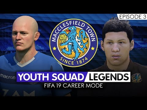 FIFA 19 CAREER MODE (Ep 3) | Macclesfield RTG | Youth Academy [YOUTH SQUAD LEGENDS] - HE MISSED?!?!?