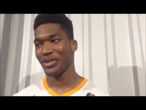 D-League Rewind: Damian Jones Postgame Interview after D-League assignment
