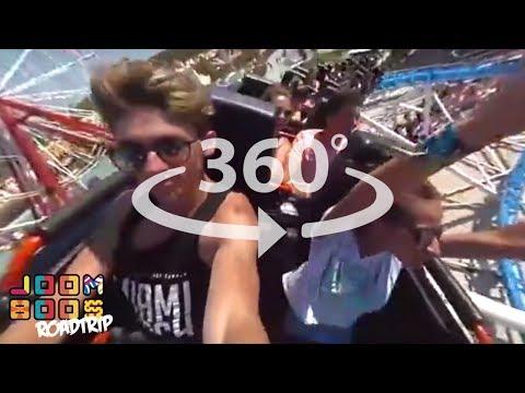 EKSTREMNI CHALLENGE U ZABAVNOM PARKU! (360 video)| JoomBoos Roadtrip | Epizoda 5