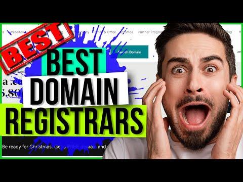 BEST DOMAINS REGISTRAR WEBSITES - TOP Domain Registrars