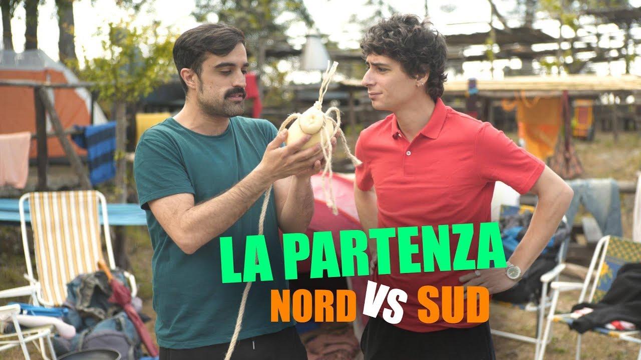 La PARTENZA  NORD vs SUD  YouTube