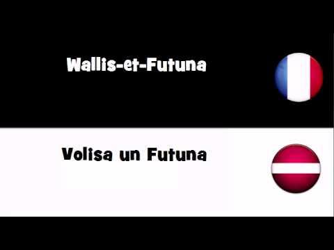 TRADUCTION EN 20 LANGUES = Wallis et Futuna