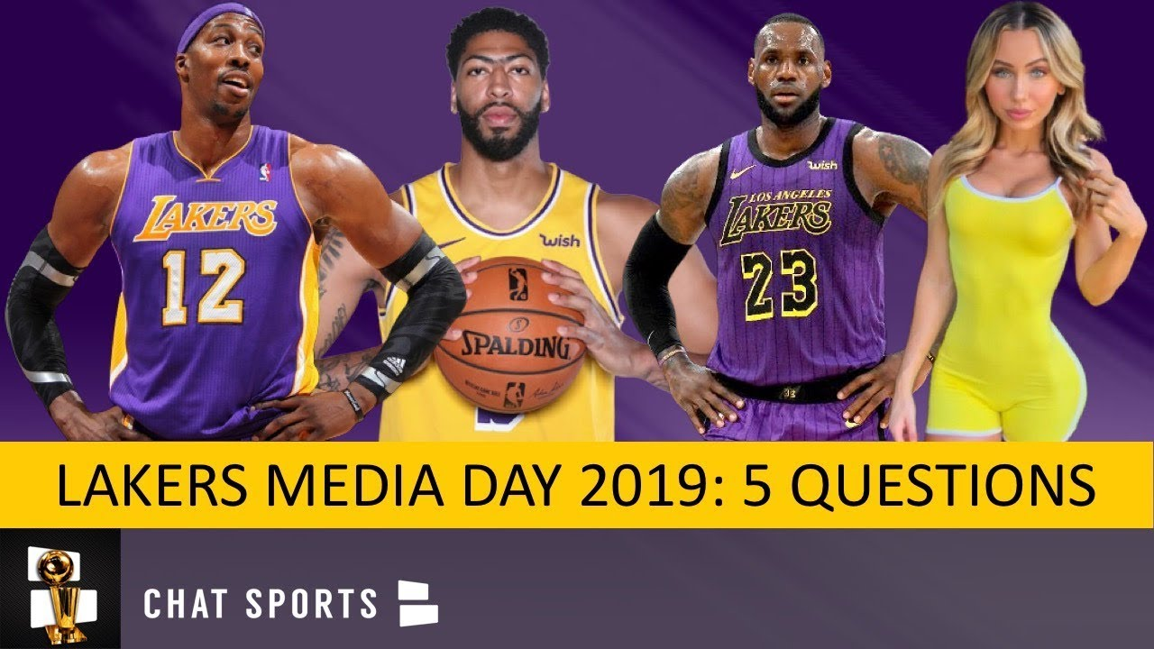 Lakers News 5 Burning Questions For Lakers Media Day On Lebron James Anthony Davis Kyle Kuzma