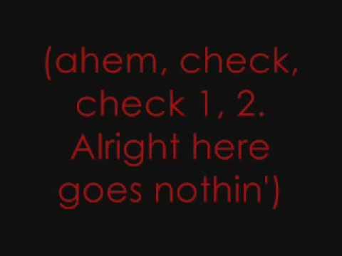 Here Goes Nothin' -Never Shout Never (Lyrics)