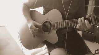 スタジオジブリ 【猫の恩返し】の主題歌、つじあやのさんの 風になる です。 南澤大介さん ソロギターのしらべ からのCOVERです。