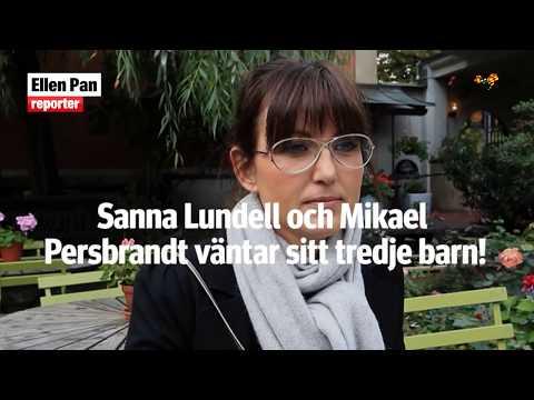 Mikael Persbrandt och Sanna Lundell väntar barn