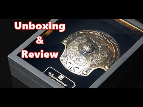 Dota 2 Collector's Aegis of Champions - Unboxing, Initial Impressions, and  Review - YouTube