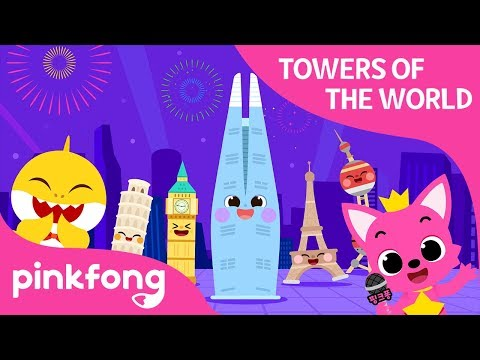 Towers of the World | Pinkfong World Festa