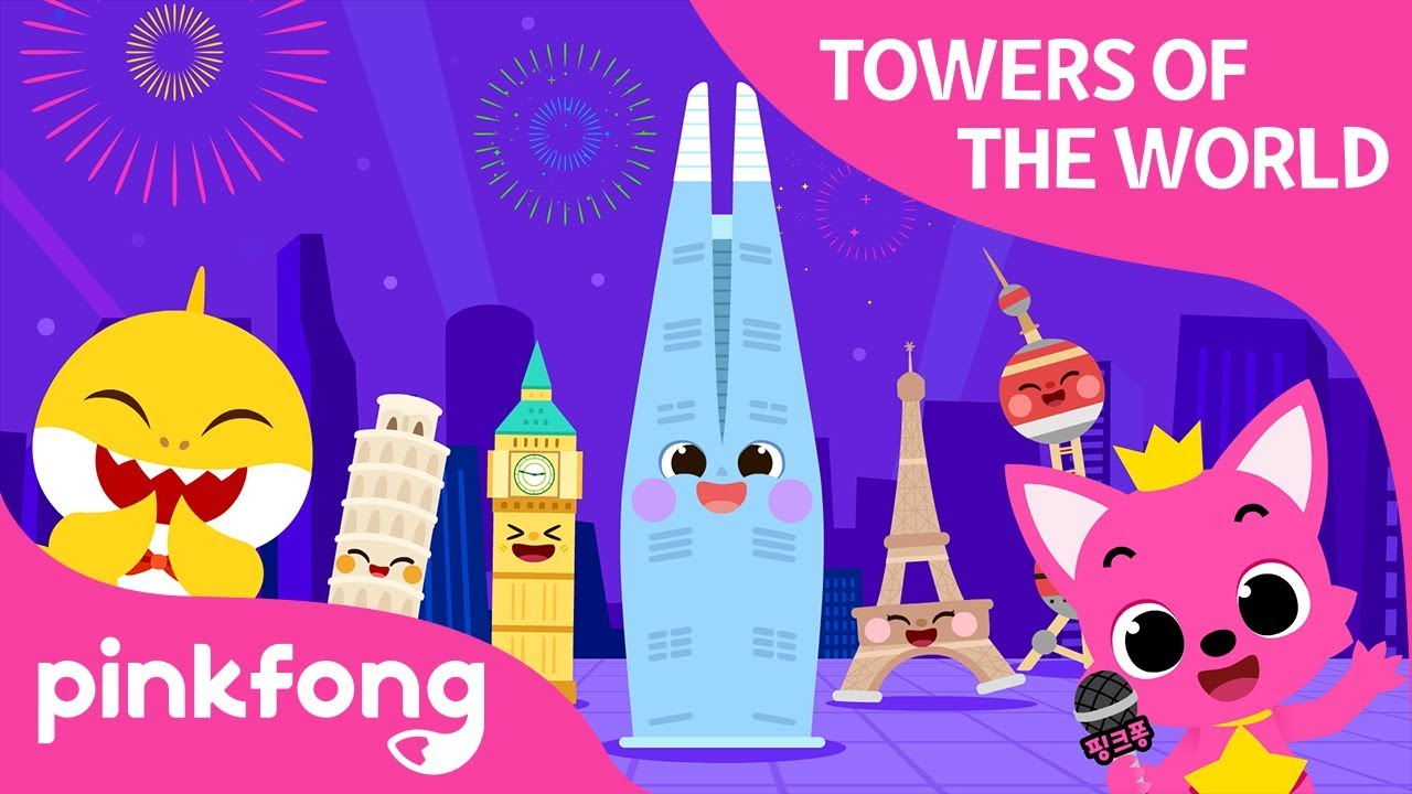 Towers of the World | Pinkfong World Festa | LOTTE WORLD TOWER | Pinkfong Songs for Children