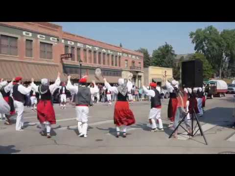 Basque Dancers at the Buffalo Wyoming Basque Festival July 2017