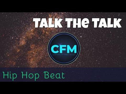 Royalty Free Music: Talk The Talk   Hip Hop Beat Gangsta Rap Instrumental [ No Copyright 100% FREE ]