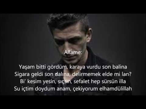 Allame - Yak Gemilerini feat. 9Canlı, Eypio, Yener Çevik (Sözleriyle)
