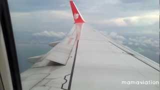 Lion Air 737-900ER Landing Semarang Ahmad Yani Airport