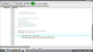 C Programlama | Ders 14 | Diziler-Arrays (Tek Boyutlu Diziler) (1/8)