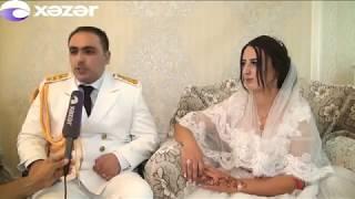 Aprel döyüşlərinin iştirakçısı Yaşar Ağayevin toyu olub