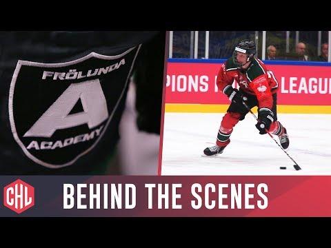 Rasmus Dahlin, Hockey Culture and the Frölunda Hockey Club