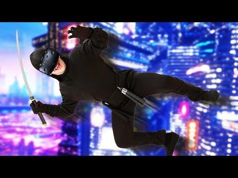 Awesome Cyber Ninja! - Sairento VR Gameplay - HTC Vive VR  