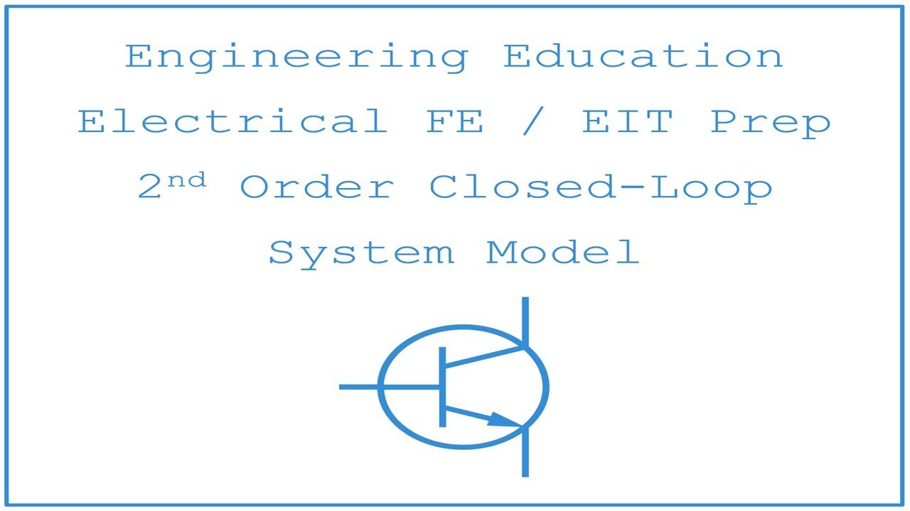 medium resolution of electrical fe eit exam prep control systems 1 2nd order closed loop system model