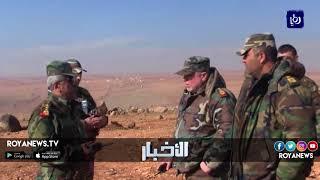 الاحتلال يشن ضربات جوية على الأراضي السورية