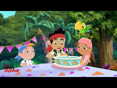 Jake and the Never Land Pirates | Happy Birthday Jake Song | Disney Junior UK