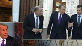 Behind-the-scenes of Charlie Rose\'s Assad interview