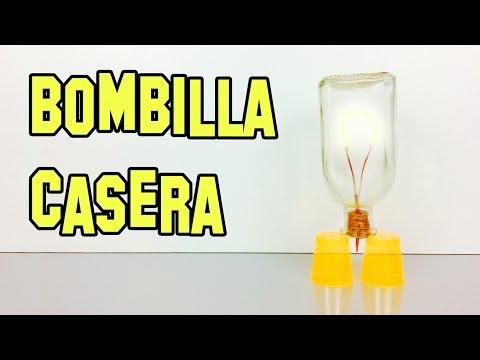 Como Hacer Una Bombilla Con Una Botella - Experimentos Caseros - LlegaExperimentos