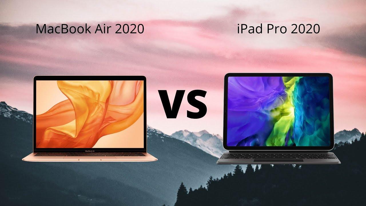 MacBook Air 2020 VS iPad Pro 2020 (Nederlands) Apple VC ...