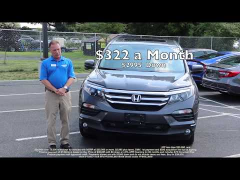 2018 Honda Pilot Honda New Lease